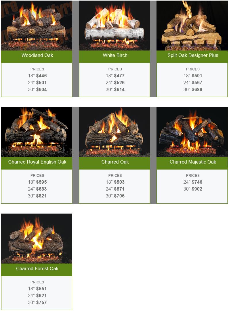 gas logs in DFW