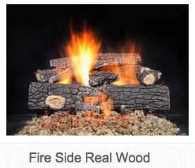 "18"" Log Set and Burner Kit $405 24"" Log Set and Burner Kit $515"