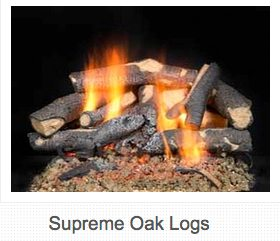 "18"" Log Set and Burner Set $525 24"" Log Set and Burner Set $540 30"" Log Set and Burner Set $555"