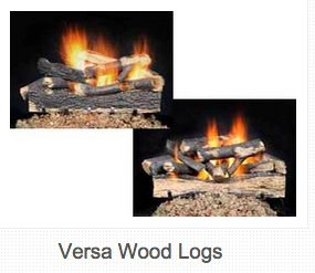 "18"" Log Set & Burner Set $460 24"" Log Set & Burner Set $490 30"" Log Set & Burner Set $520"