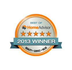HomeAdvisor 2013 Winner