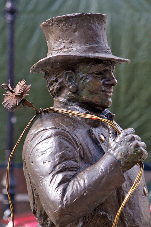 Statue of Professional Chimney Cleaner